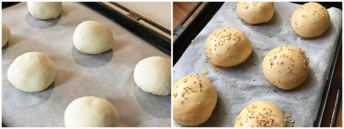 パンの作り方、工程(発酵、オーブン予熱)