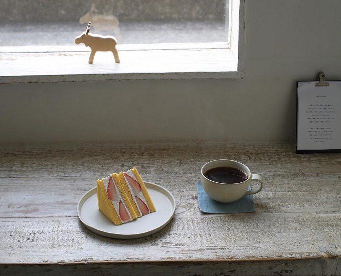 カフェsens et sensのおすすめスイーツとコーヒー