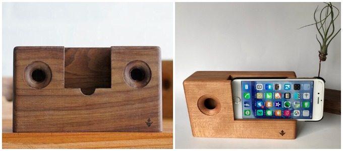 木製スピーカー「アウル」