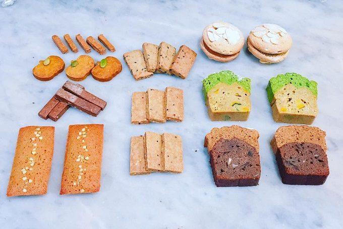滋味菓子屋の安心感のあるかわいいお菓子