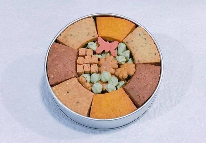 滋味菓子屋のプレゼントにおすすめのクッキー缶