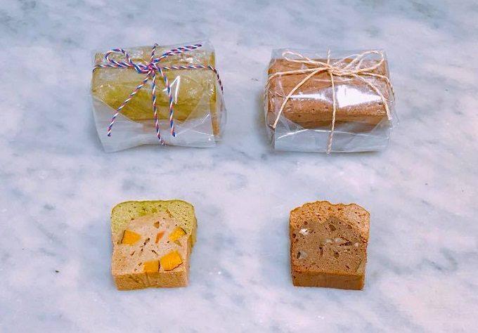滋味菓子屋のそば粉のパウンドケーキ