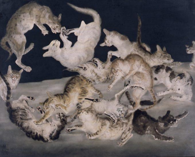 日本人画家、藤田嗣治(ふじた つぐはる)の作品1