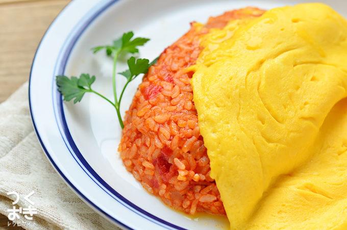 つくおきトマトソースレシピ、オムライス