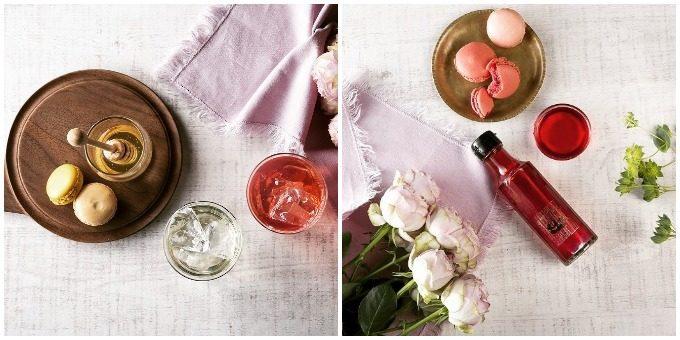 シェリーテッラのおいしいお酢「Honey Vinegar」と「さ姫」