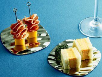 まるで水面のゆらめきみたい。幻想的な世界を表現した鏡面のお皿「MINAMO」