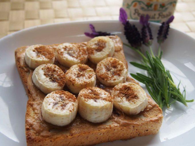 bocchiを使ったバナナシナモントースト