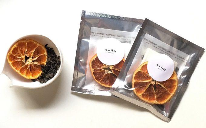 chaRica<チャリカ>のみかんのドライフルーツブレンド茶