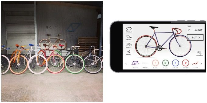 Cocci Pedale<コッチペダーレ>のカスタマイズ自転車2