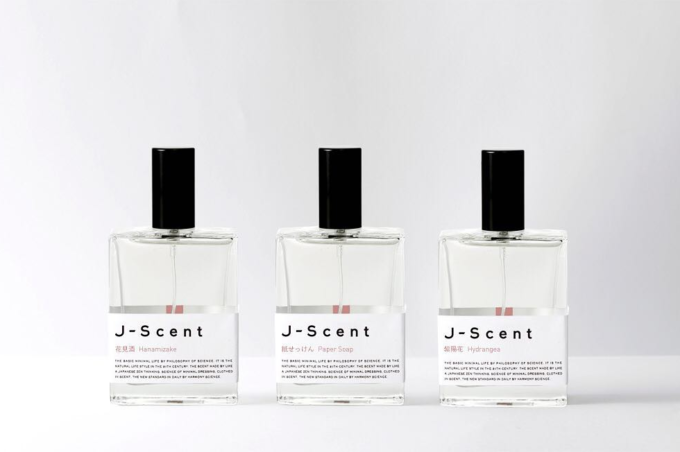 J-scent<ジェイセント>のフレグランス