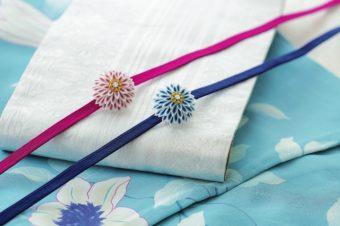 浴衣を着るのが楽しくなる。繊細なデザインでより女性らしさをプラスする帯留め特集