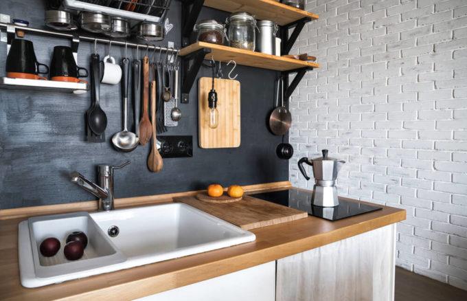 使いやすく工夫されたキッチンウェア
