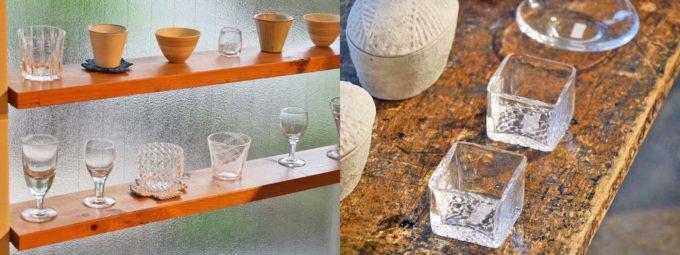 Ékocaで取り扱うシンプルなガラスの器2