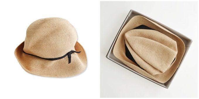 夏におすすめmature ha.<マチュアーハ>のラフィア素材の帽子