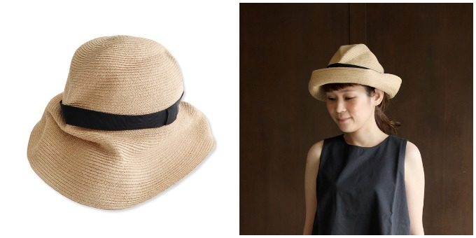夏におすすめmature ha.<マチュアーハ>のつば広の帽子