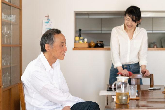 天然生活の元編集長、古庄さんと奥さん