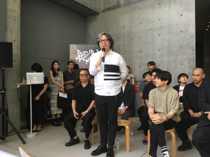 休日のお出かけにおすすめ、東京で開催されている「音のアーキテクチャ展」について語っているところ