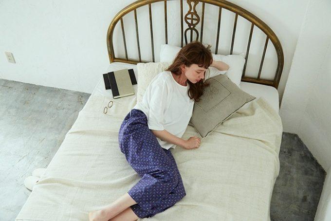 Nells<ネルズ>の肌触りの良いゆったりシルエットのおしゃれなパジャマ