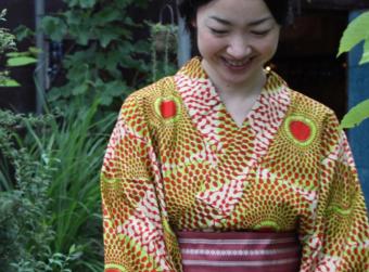 和柄とはまた違う、異国の魅力がたっぷり。アフリカと日本をつなぐ「SOLOLA」の浴衣