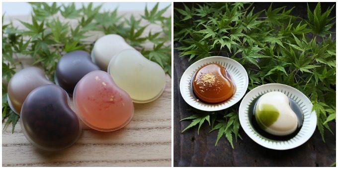 菓游・茜庵の水菓子