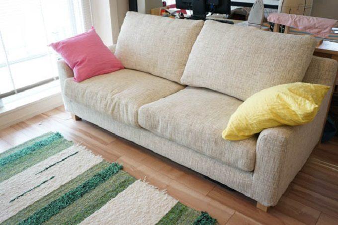 家具選びで失敗しないポイント・ソファ選び実例