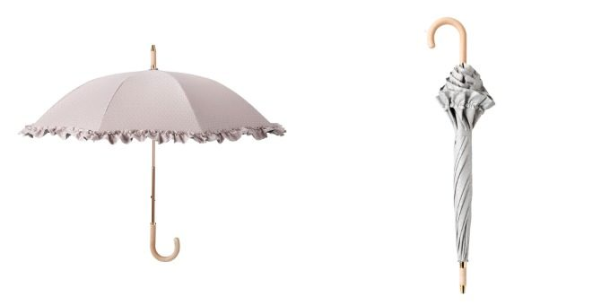 HANWAY<ハンウェイ>のフリルの晴雨兼用傘