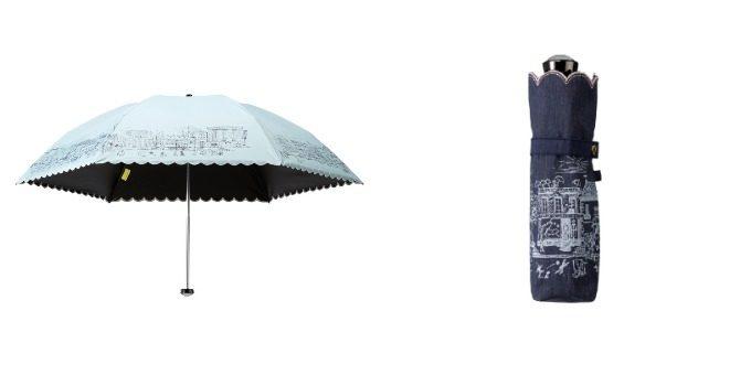 HANWAY<ハンウェイ>のフリルの晴雨兼用傘・日傘