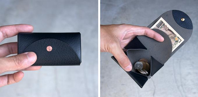 おすすめミニ財布、hirariのこだわりのシンプルで洗練された小さなお財布