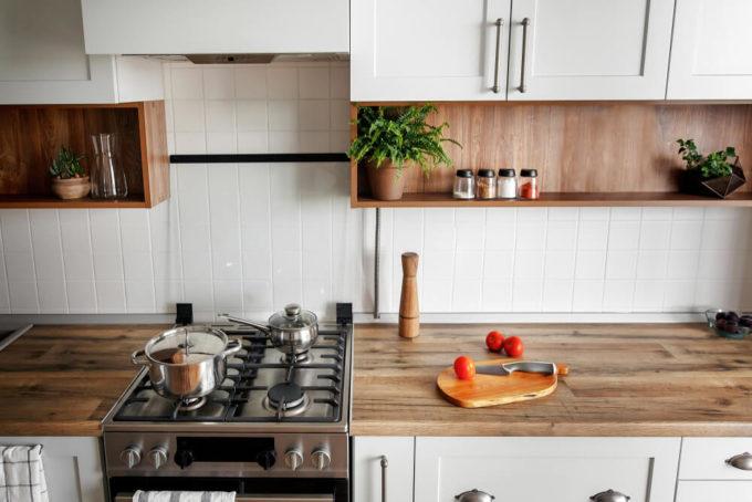 使いやすいこだわりのキッチン収納術1