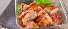ピリ辛味噌のチキンの照り焼きのレシピ