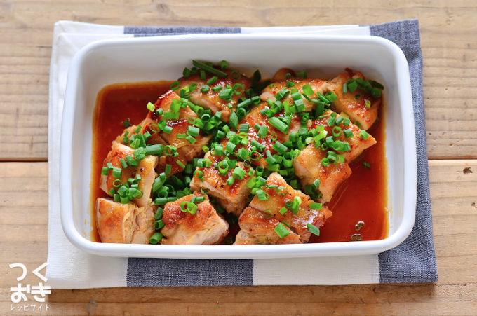 ポン酢照り焼きチキンのレシピ