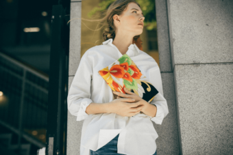 日本の良さを再認識。着物や帯でできた「Tomorrow Fabric」のクラッチバッグ