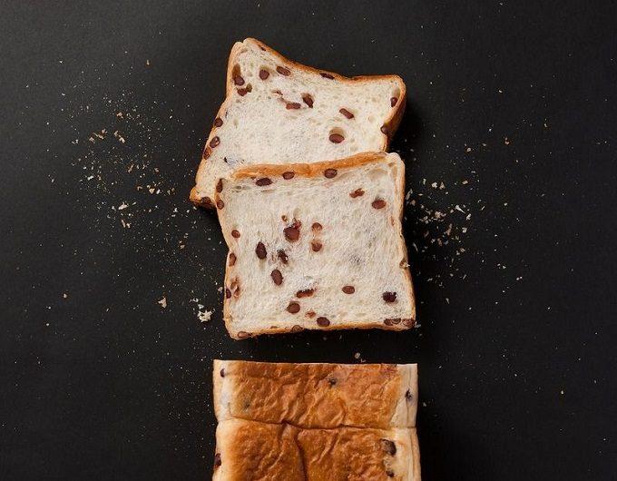 おすすめ二子玉川の「高級食パン専門店 あずき」の小豆入り食パン3