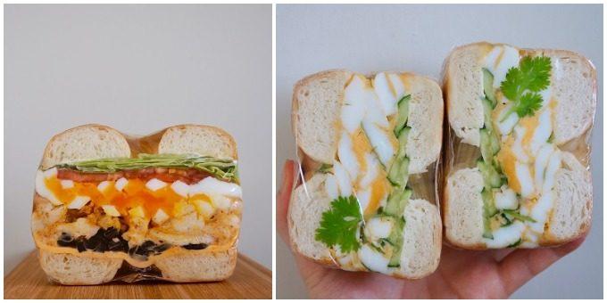 断面が美しい、素材にこだわったCLOVER BAGLE<クローバーベーグル>のチキンや卵のベーグルサンド
