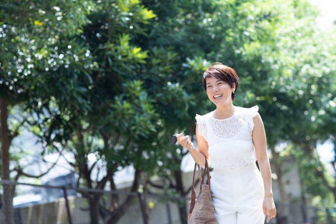 46歳美魔女トレーナーが教える美しい歩き方