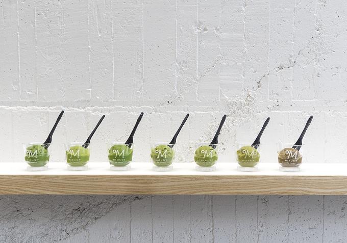 焙煎温度で選ぶ日本茶カフェMaruzen Tea Roastery<マルゼンティーロースタリー>のティージェラート2