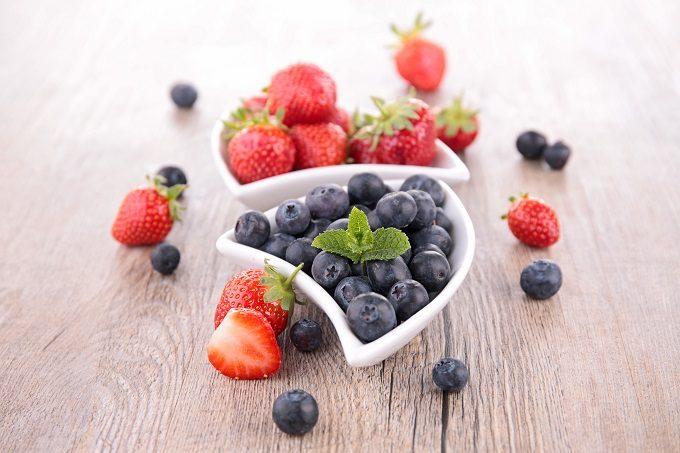 美肌効果に期待できるフレーバーウォーターにおすすめのフルーツ、ベリー系