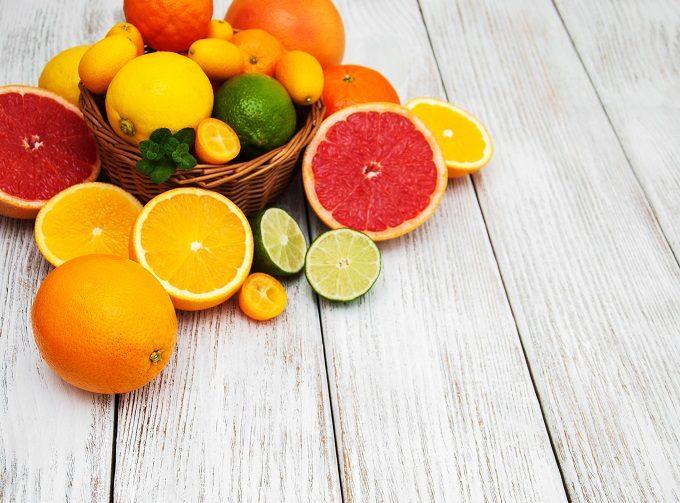 代謝アップやリラックス効果に期待できるフレーバーウォーターにおすすめのフルーツ、柑橘系