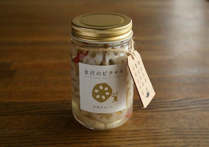 金沢のピクルスの加賀れんこんシリーズ