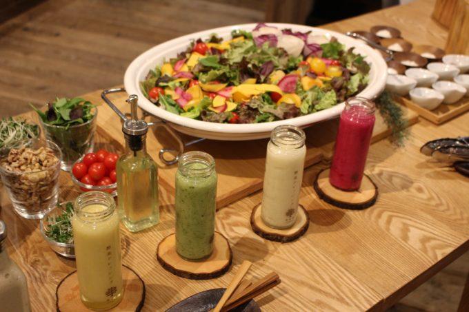 女性に人気、有機無農薬の野菜をたっぷり使った実身美の酵素ドレッシング
