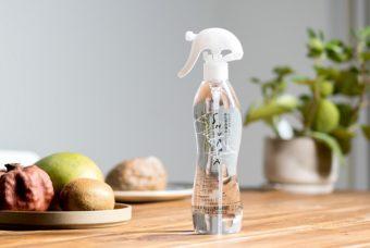 化学薬品不使用でも高い洗浄力。食周りに安心して使える純水100%の洗浄水「SHUPPA」