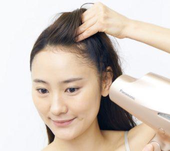 美髪のための正しいドライヤーのかけ方の基本1