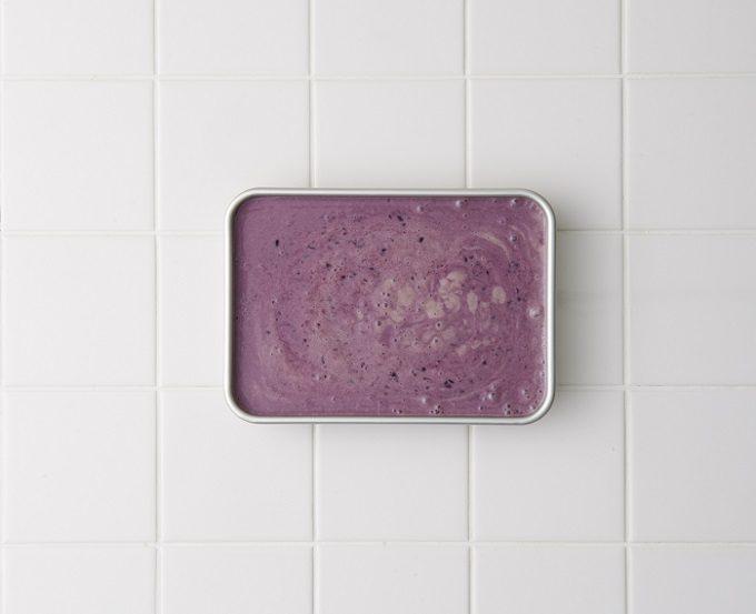 ダイエット中にもおすすめ、生クリームや白砂糖不使用でヘルシーなブルーベリーの豆乳アイスの作り方3