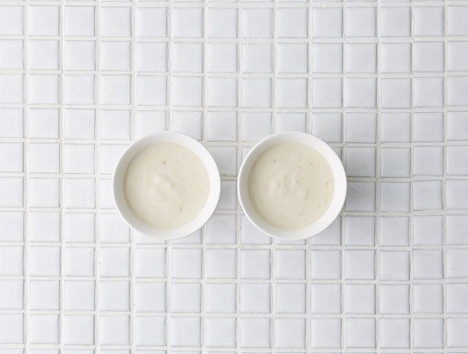 ダイエットにおすすめ、簡単ヘルシーなおやつ「キウイの甘酒豆乳ヨーグルト」のレシピ、手順3