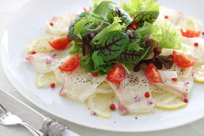 ダイエットにもおすすめ、山椒のお手軽レシピ「山椒風味のカルパッチョ」