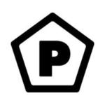 ビーズアクセサリーのブランド「PENTA(ペンタ)」のロゴ