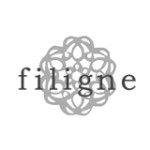 アクセサリーブランド「filigne(フィリーニュ)」のロゴ