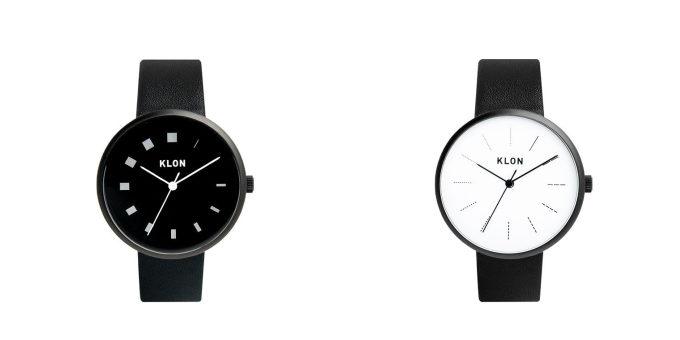 大人女子におすすめの「KLON」のシンプルでおしゃれなデザインの腕時計の文字盤