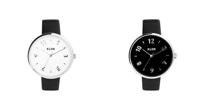 大人女子におすすめの「KLON」のシンプルでおしゃれなデザインの腕時計、ペアウォッチ