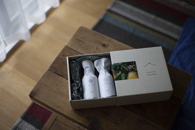 ギフトにもおすすめ、よい香りのおしゃれな洗剤「Komons(コモンズ)」のギフトセット
